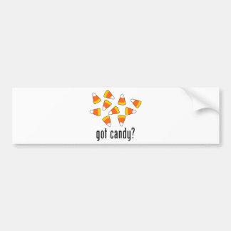got candy Candy Corn Bumper Stickers