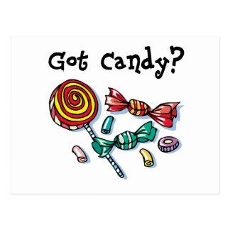 Got Candy Halloween Postcard