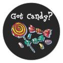 Got Candy Halloween Stickers sticker