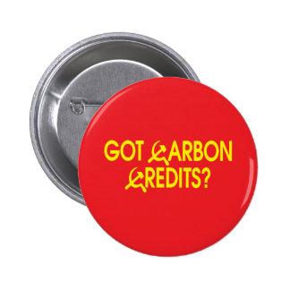 Got Carbon Credits? 2 Inch Round Button