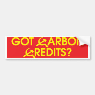 got_carbon_credits_bmprstkr pegatina de parachoque