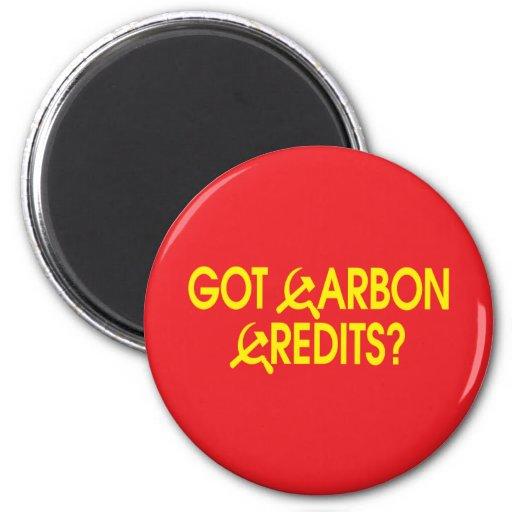 Got Carbon Credits? Refrigerator Magnet