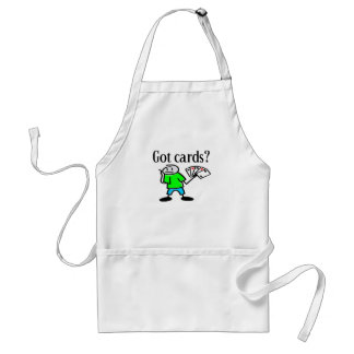 Got Cards? T-shirts and Gifts. Apron