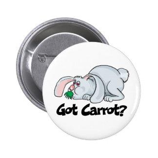 Got Carrot Pinback Button