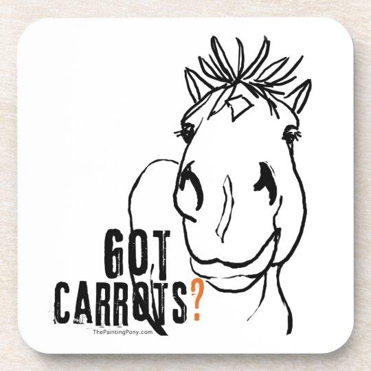 Got Carrots? Coaster