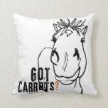 Got Carrots? Pillow