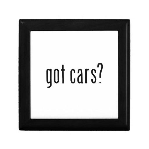 got cars? keepsake box