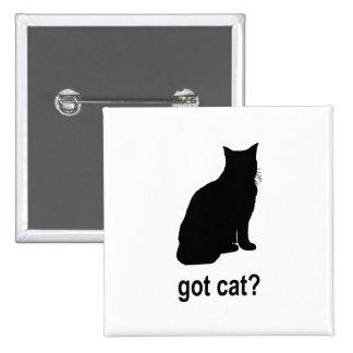 Got Cat? 2 Inch Square Button