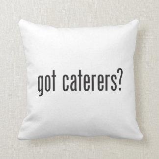 got caterers throw pillow