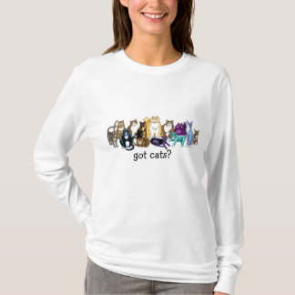 got cats? t-shirt