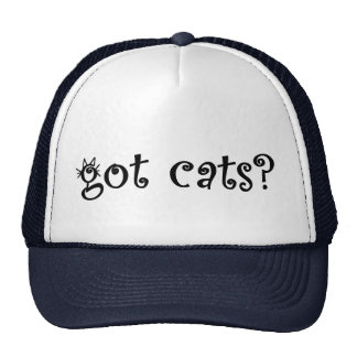 Got Cats? T-shirts and Gifts. Trucker Hat