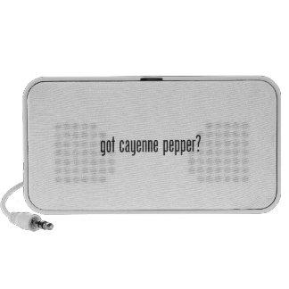 got cayenne pepper speakers