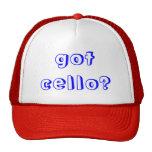 got cello trucker hat