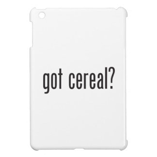 got cereal case for the iPad mini
