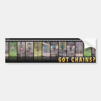 Got Chains? Bumper Sticker