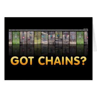 Got Chains? Card