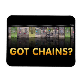 Got Chains? Rectangular Photo Magnet
