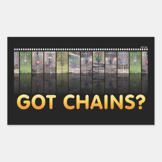 Got Chains Rectangle Sticker