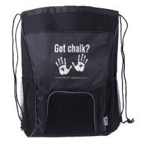 Got chalk? acrobatic gymnastics sling bag