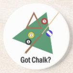Got Chalk Billiards Coasters