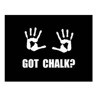Got Chalk Postcard