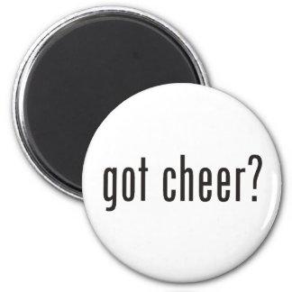 got cheer? 2 inch round magnet