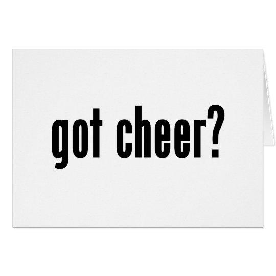 got cheer? card