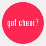got cheer? stickers