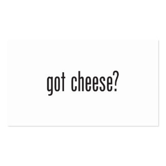 got cheese Double-Sided standard business cards (Pack of 100)
