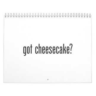 got cheesecake calendar