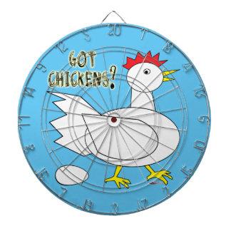 Got Chickens? Dartboards