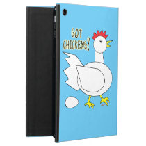 Got Chickens? iPad Air Cover