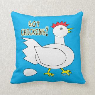 Got Chickens? Throw Pillow