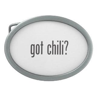 got chili belt buckles