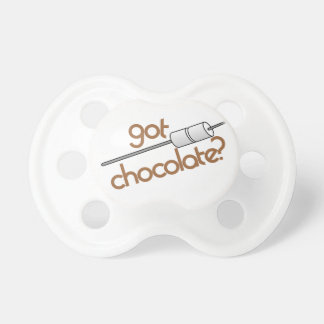 Got Chocolate? BooginHead Pacifier