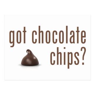 Got Chocolate Chips? Postcard