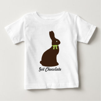 Got Chocolate Easter Bunny Baby T-Shirt