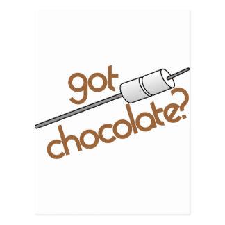 Got Chocolate? Postcard