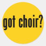 got choir? stickers