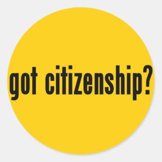 got citizenship? sticker