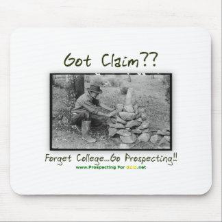 Got Claim? Mouse Pad