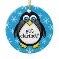 Got Clarinet (Funny) Ornament
