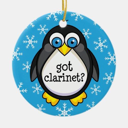 Got Clarinet Funny Ornament