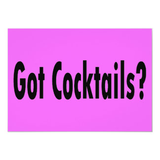 Got Cocktails? Card