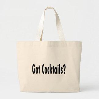 Got Cocktails Jumbo Tote Bag
