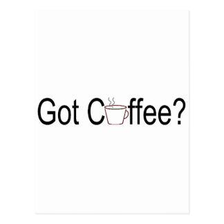 Got Coffee? 2 Postcard