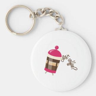 Got Coffee Keychains