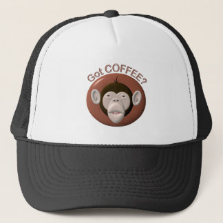 Got Coffee Monkey Trucker Hat