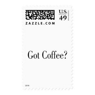 Got Coffee? Stamp