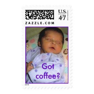 Got coffee? postage